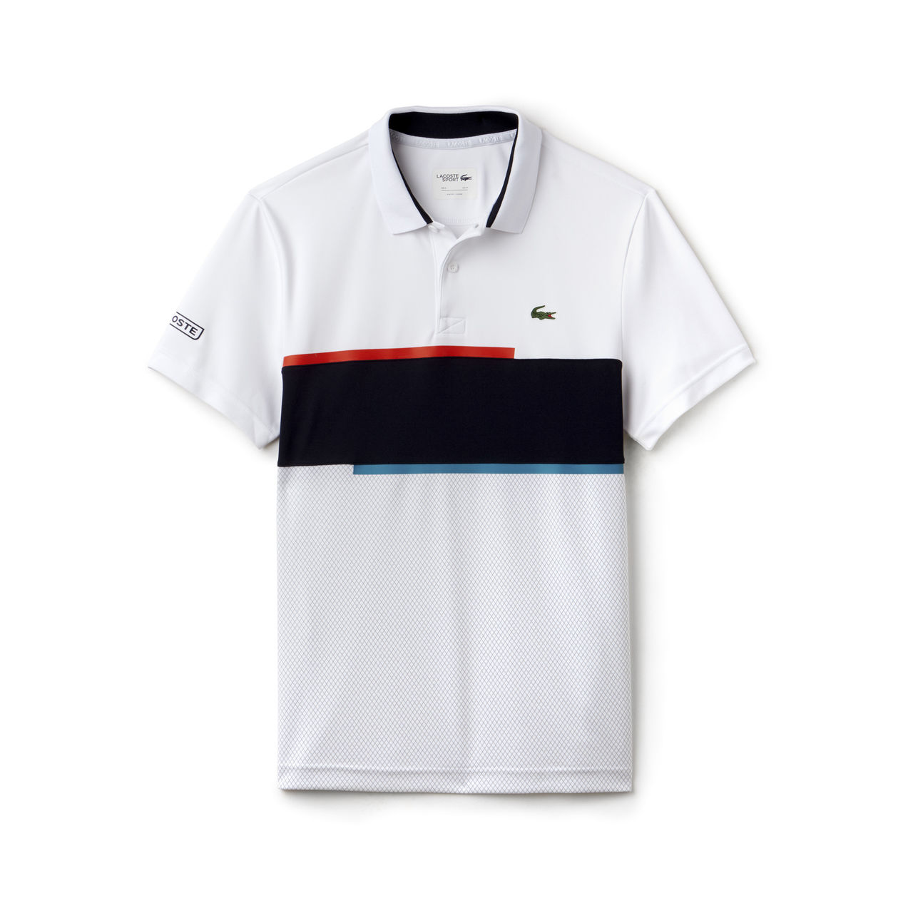 064f638bf3 Camisa Polo Lacoste DH2071 Branco