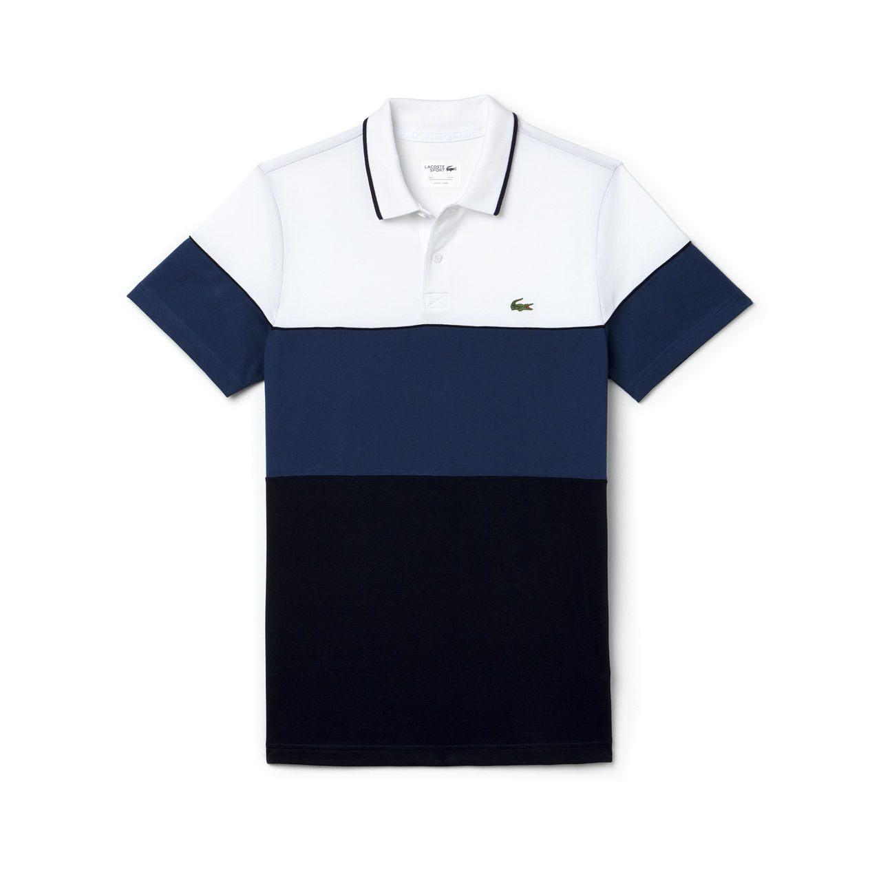 Camisa Polo Lacoste DH2102 Azul 3d2e00a97cb