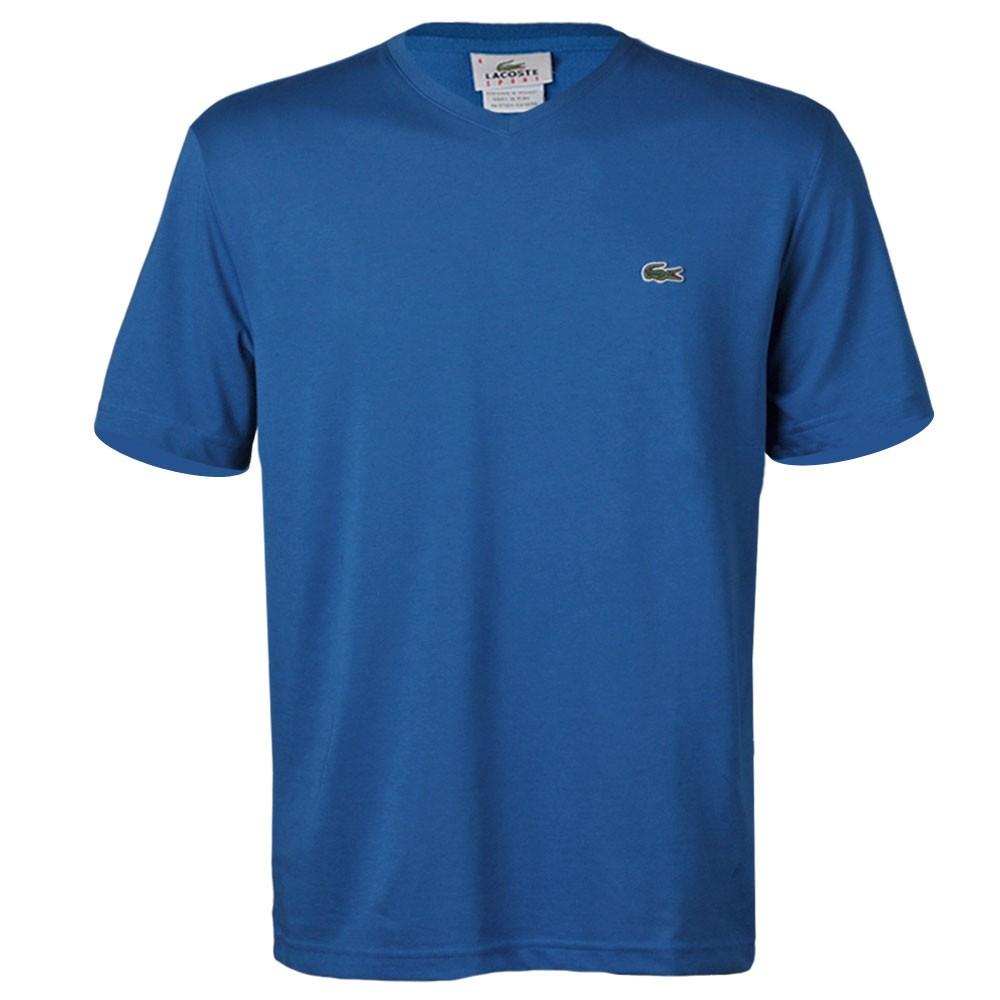 37d9c56a76d Camiseta Lacoste TH2376 Azul Royal