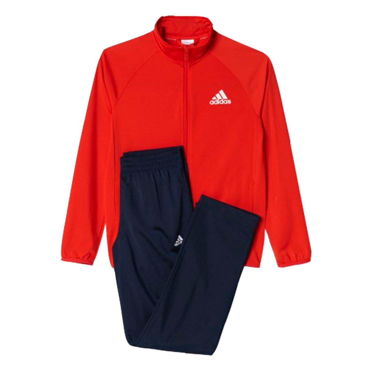 Agasalho Adidas YB TS ENTRY OH Vermelho Marinho 1e96a43272d25