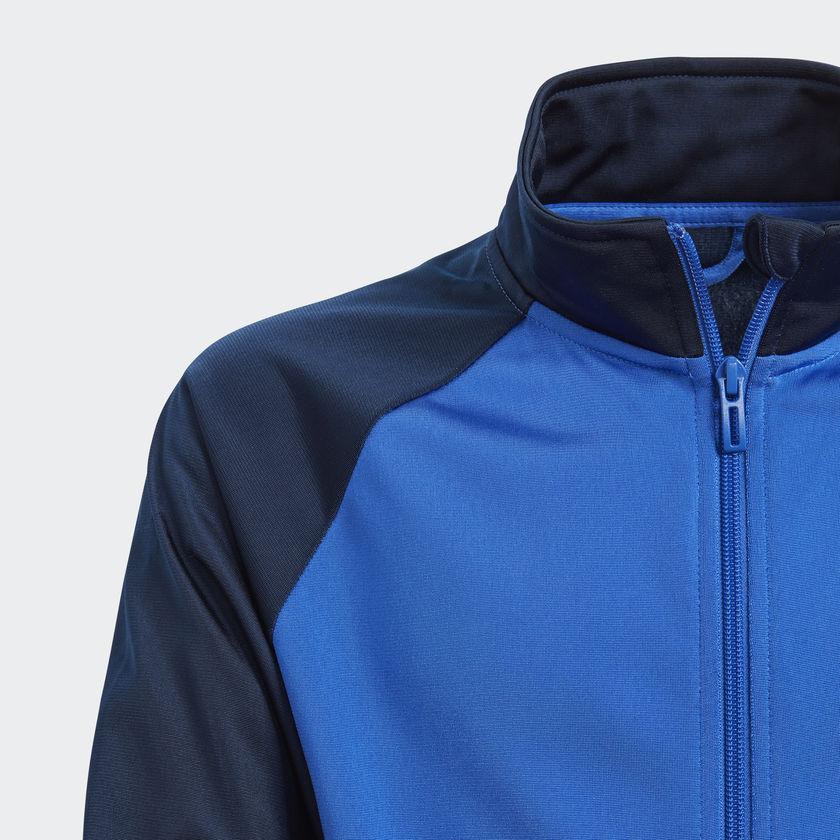 Agasalho Adidas YB TS ENTRY CH Azul 90d5db95e4b61