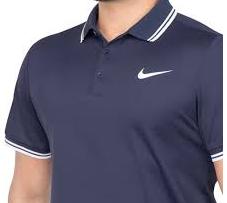 df3c82d68135c Camisa Polo Nike Court Dry Solid Marinho