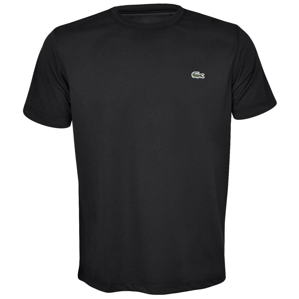 53777b9d01eb4 Camiseta Lacoste TH4208 Preto, Vivano Sports - A loja do tenista