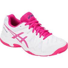 c0bda411d7 Tênis Asics Gel Game 5 GS Branco Rosa