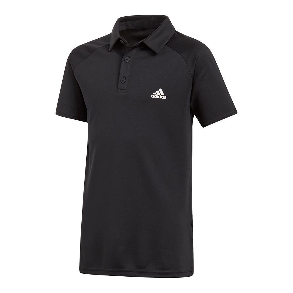 297447411e Camisa Adidas Polo Club Inf. Preto