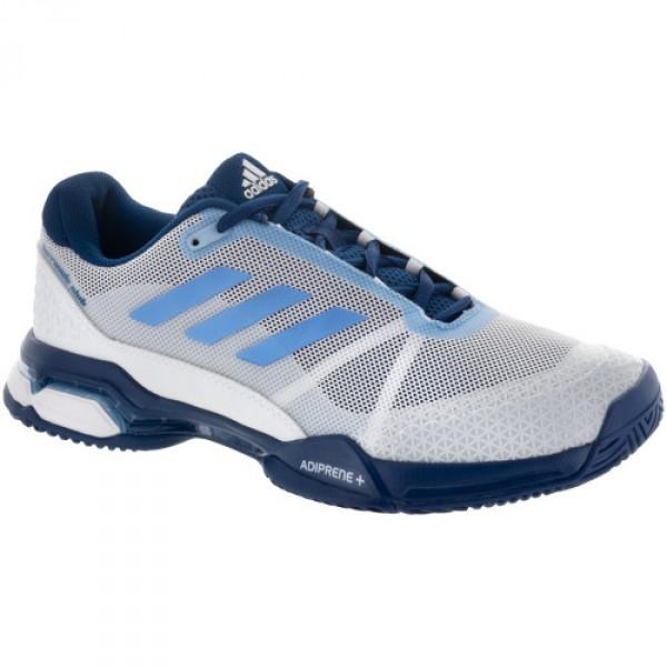 40b96d8e1d0 Tênis Adidas Barricade Club Azul Branco