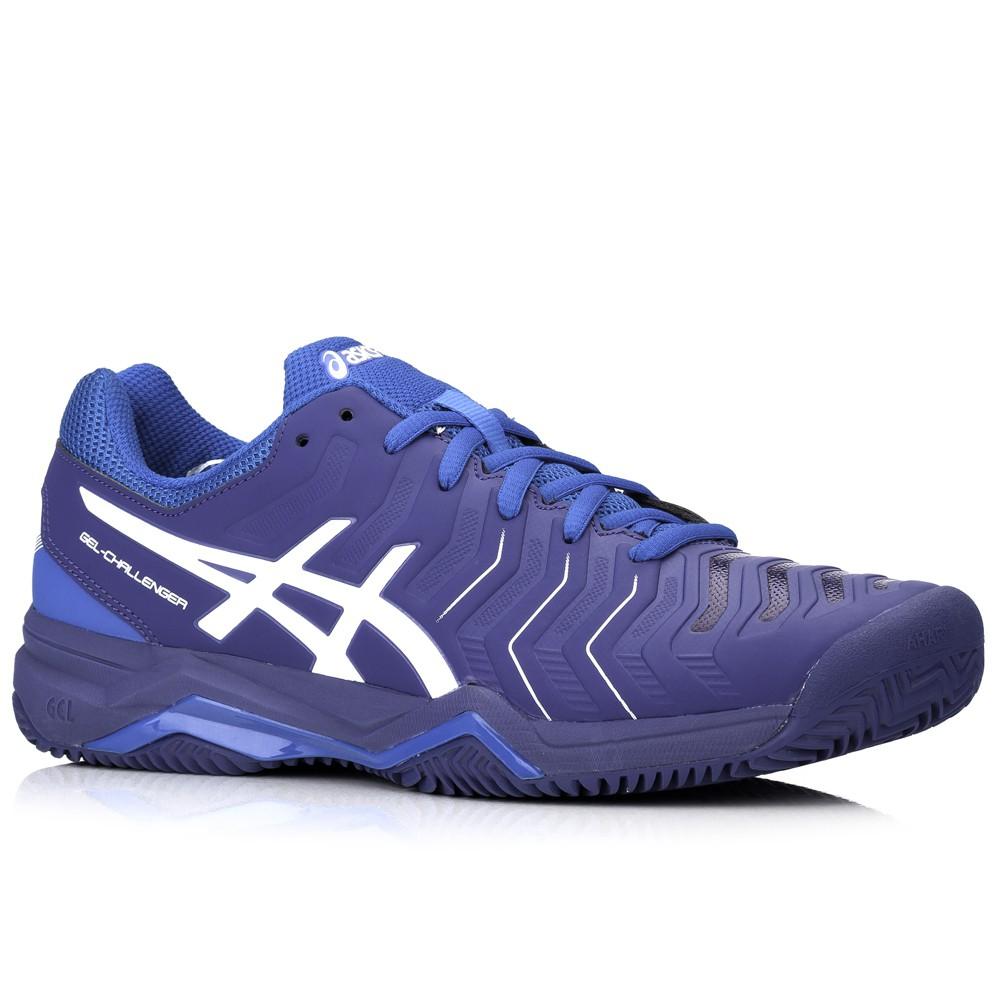 6556534b51 Tênis Asics Gel Challenger 11 Clay Azul, Vivano Sports - A loja do ...
