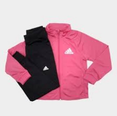 35401f6c893 Agasalho Adidas YG S ENTRY TS Rosa