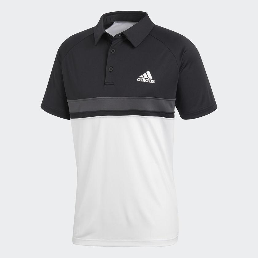 e43801bd2 Camisa Adidas Polo Club CB Preto Branco